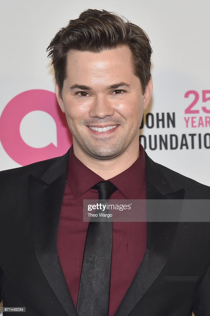 Andrew Rannells attends the Elton John AIDS Foundation Commemorates Its 25th Year And Honors Founder Sir Elton John During New York Fall Gala at Cathedral of St. John the Divine on November 7, 2017 in New York City.