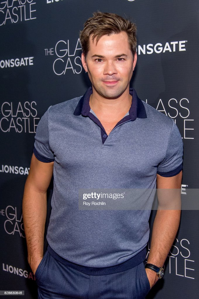 Andrew Rannells attends 'The Glass Castle' New York screening at SVA Theatre on August 9, 2017 in New York City.