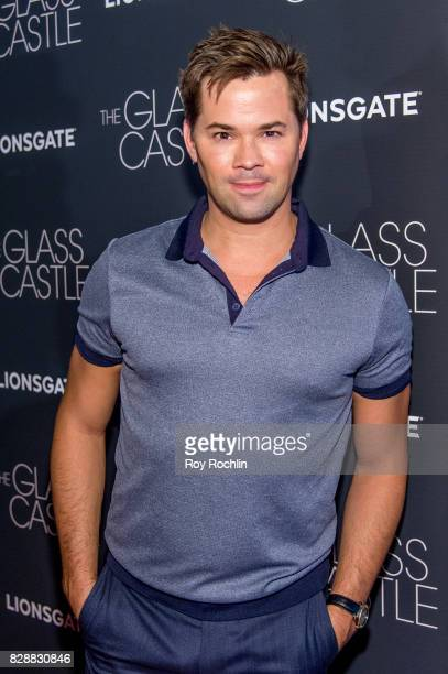 Andrew Rannells attends 'The Glass Castle' New York screening at SVA Theatre on August 9 2017 in New York City