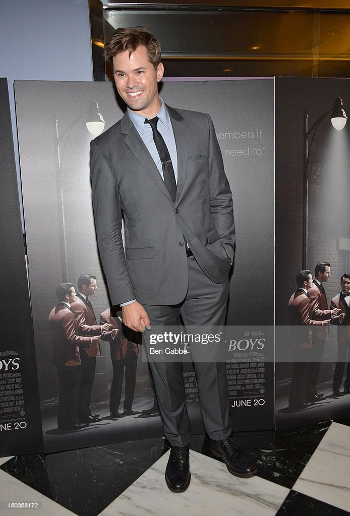 Andrew Rannells attends the 'Jersey Boys' Special Screening at Paris Theater on June 9, 2014 in New York City.