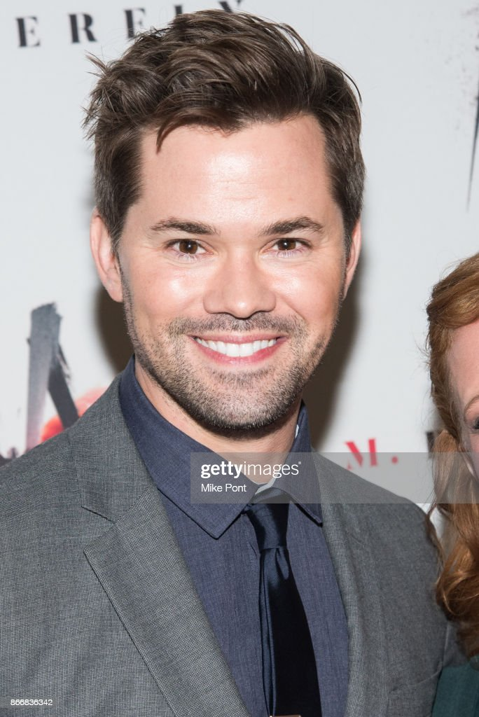 Andrew Rannells attends the 'M. Butterfly' Broadway opening night at The Cort Theatre on October 26, 2017 in New York City.