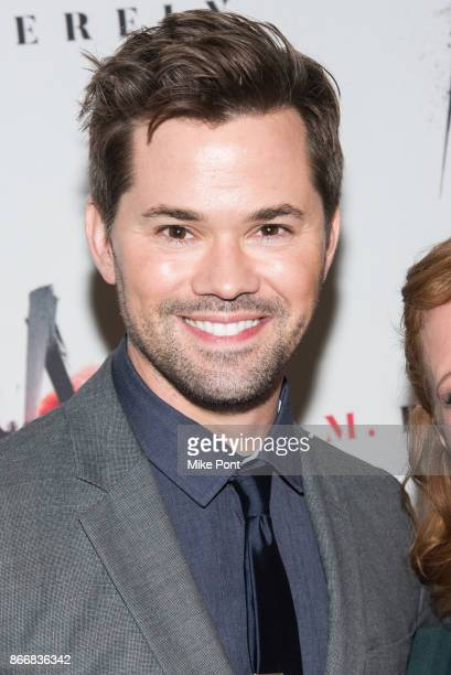 Andrew Rannells attends the 'M Butterfly' Broadway opening night at The Cort Theatre on October 26 2017 in New York City