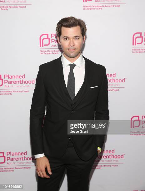 Andrew Rannells attends the Planned Parenthood Advocacy Project LA County's Politics Sex Cocktails fundraiser on October 6 2018 in Los Angeles...
