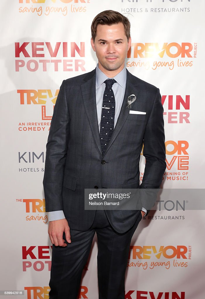 Andrew Rannells attends The Trevor Project's TrevorLIVE New York on June 13, 2016 in New York City.