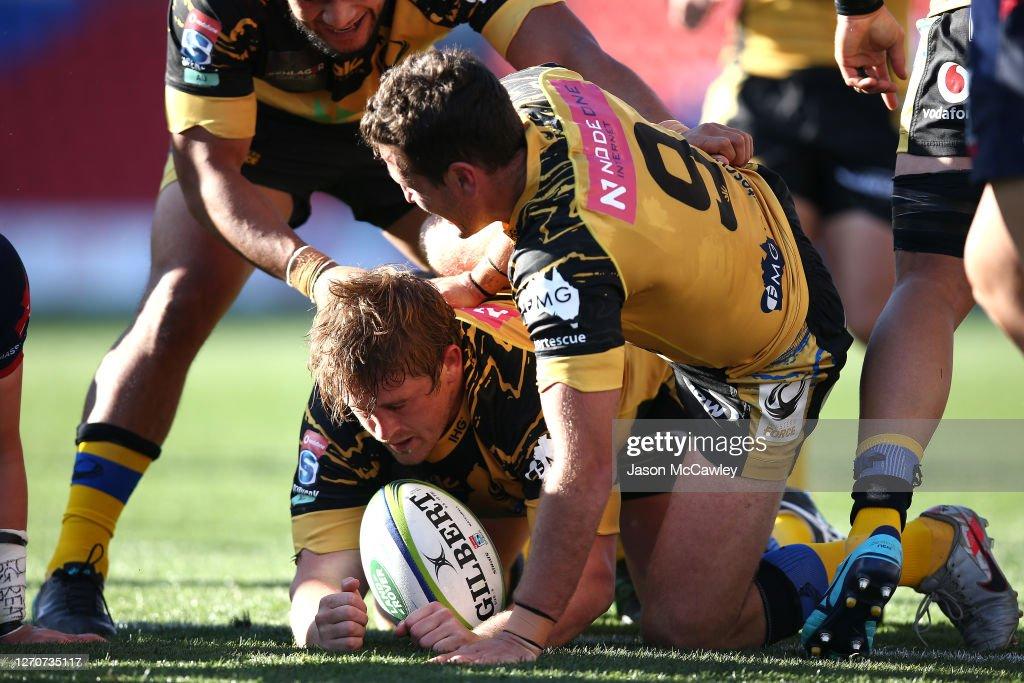 Super Rugby AU Rd 10 - Rebels v Force : News Photo