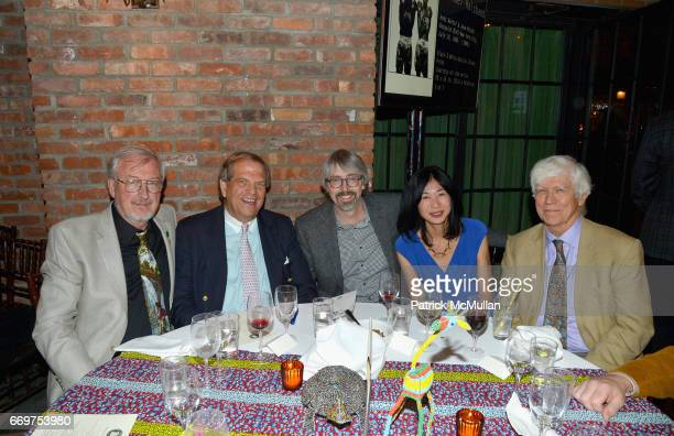 Andrew Rhodin Stuart Salenger George Meyer Hiromi Tada and Dr Russell Mittermeier attend The Turtle Conservancy's 4th Annual Turtle Ball at The...