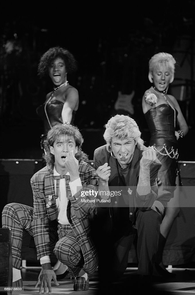 Wham! On Stage : News Photo
