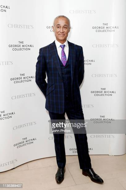 Andrew Ridgeley attends the George Michael Collection VIP Reception at Christies on March 12 2019 in London England