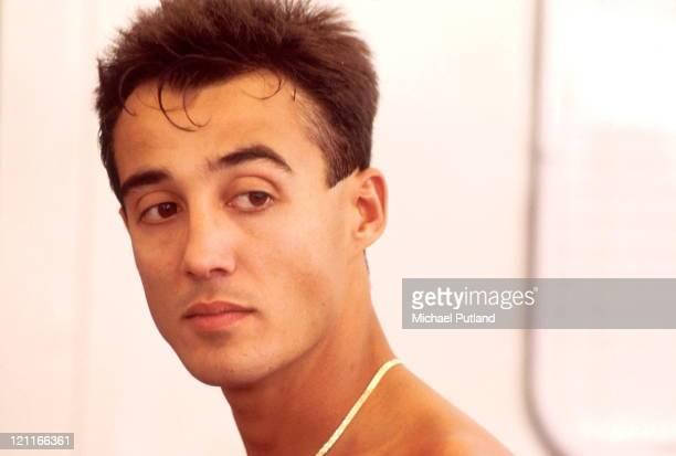 Andrew Ridgeley of Wham portrait 1986