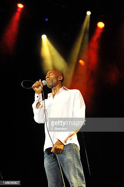 Andrew Roachford of Mike And The Mechanics performs on stage at Shepherds Bush Empire on July 18, 2012 in London, United Kingdom.
