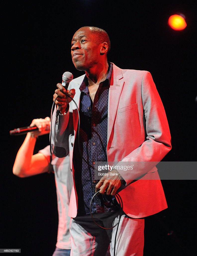 Andrew Roachford of Mike & The Mechanics performs at Best Buy Theater on March 4, 2015 in New York City.