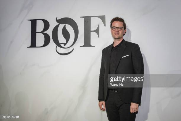 Andrew Robb COO of Farfetch attends the BoF China Summit during Shanghai Fashion Week at Fosun Foundation on October 11 2017 in Shanghai China