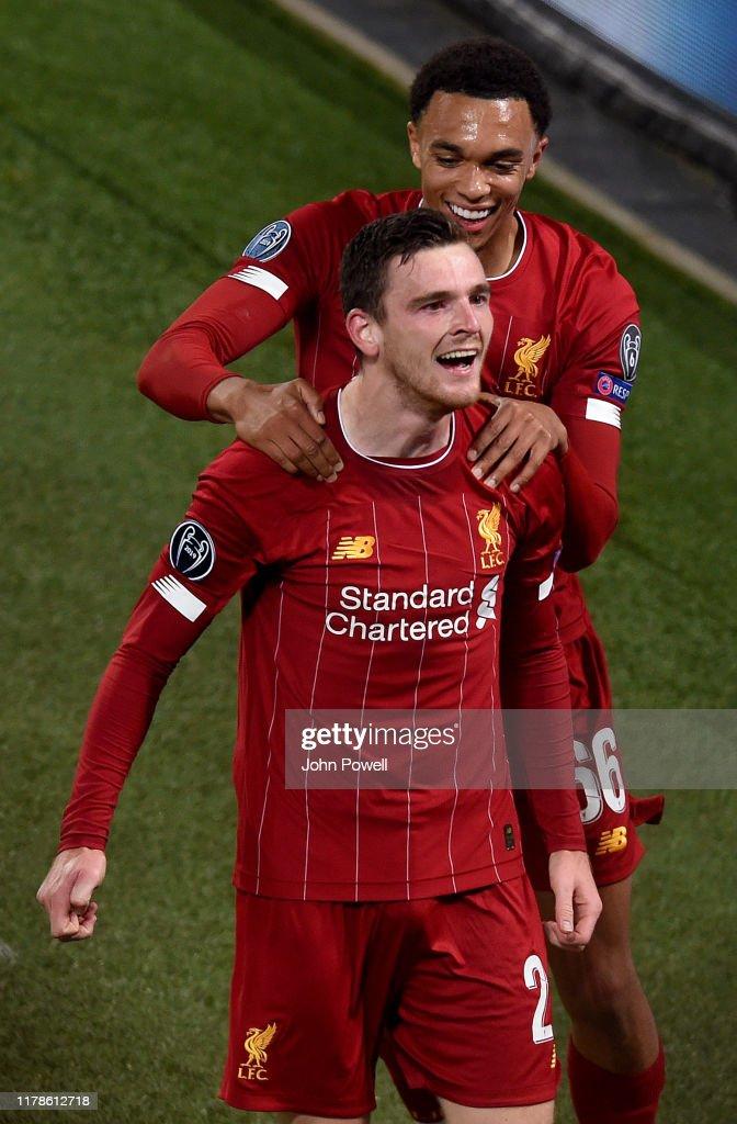 Liverpool FC v RB Salzburg: Group E - UEFA Champions League : ニュース写真