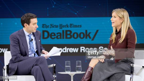 Andrew Ross Sorkin, Editor at Large, Columnist and Founder, DealBook, The New York Times speaks with Gwyneth Paltrow, Founder and C.E.O., goop...