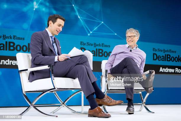 Andrew Ross Sorkin Editor at Large Columnist and Founder DealBook The New York Times speaks with Bill Gates CoChair Bill Melinda Gates Foundation...