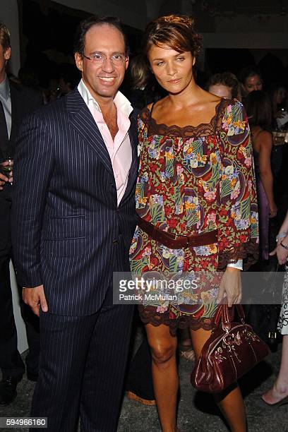 Andrew Saffir and Helena Christensen attend DIOR THE CINEMA SOCIETY present a screening of Hart Sharp Entertainment Miramax Films' Proof at 165...