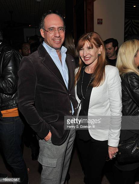 """Andrew Saffir and Nicole Miller attend the after party for the Cinema Society & Bally screening of Sony Pictures Classics' """"At Any Price"""" at Clarkson..."""