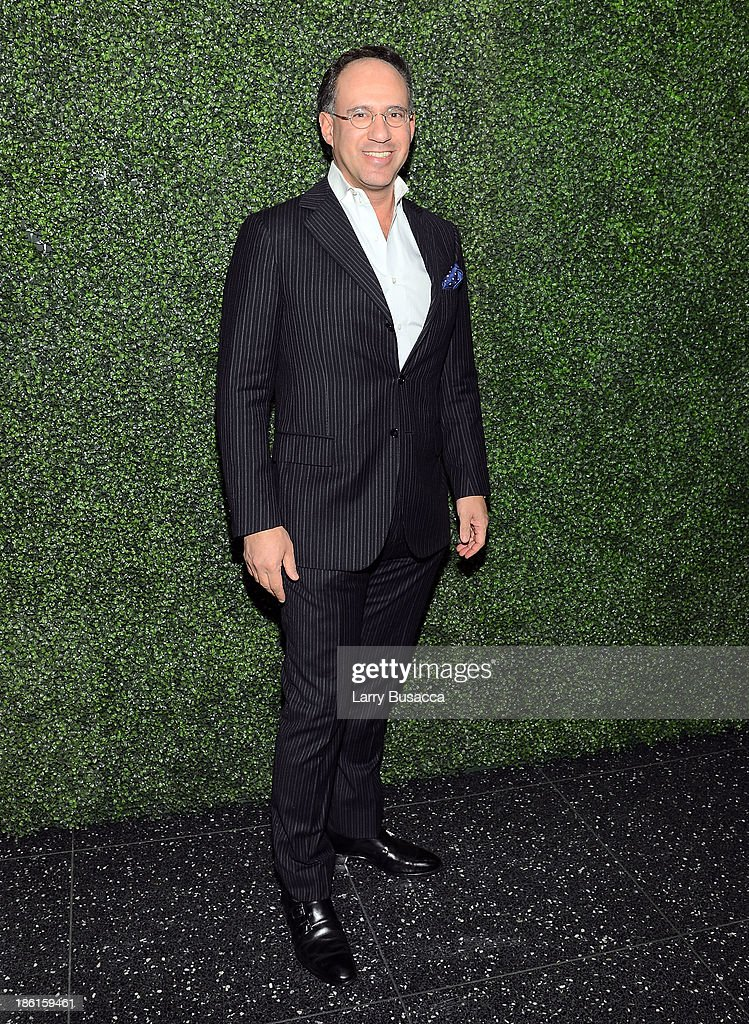 Andrew Saffir arrives as Ralph Lauren Presents Exclusive Screening Of Hitchcock's To Catch A Thief Celebrating The Princess Grace Foundation at MoMA on October 28, 2013 in New York City.