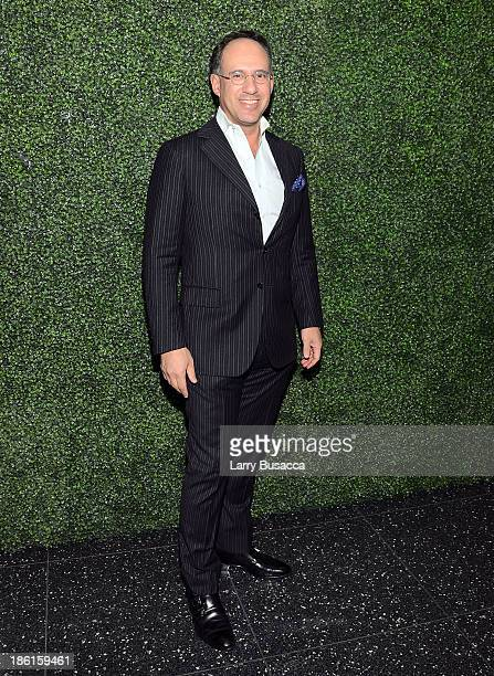 Andrew Saffir arrives as Ralph Lauren Presents Exclusive Screening Of Hitchcock's To Catch A Thief Celebrating The Princess Grace Foundation at MoMA...