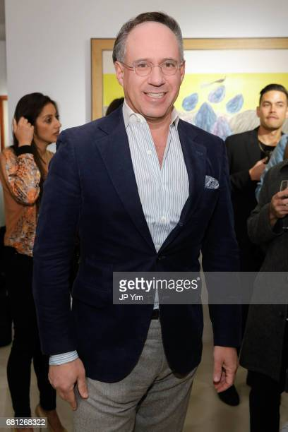 Andrew Saffir attends 'A Magic Bus Cocktail Party' at DAG Modern on May 9 2017 in New York City