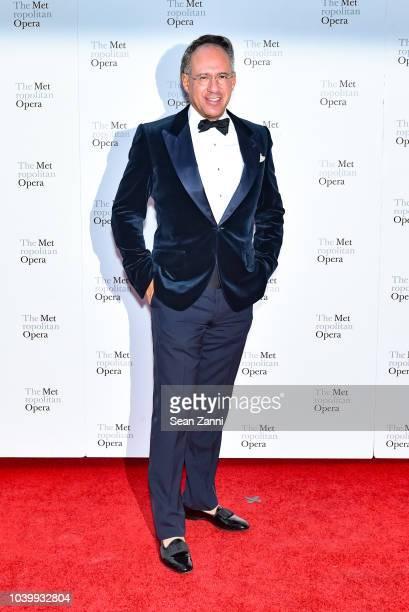 Andrew Saffir attends The Metropolitan Opera Opening Night Gala SaintSaens' 'Samson et Dalila' at Lincoln Center on September 24 2018 in New York City