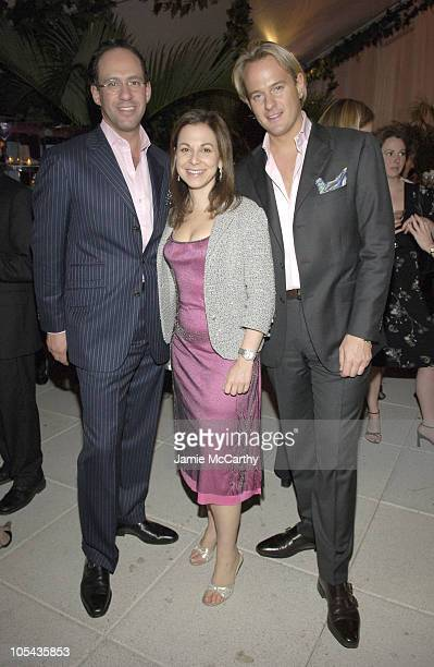 Andrew Saffir Bettina Zilkha and Daniel Benedict during 'The Starter Wife' A Novel By Gigi Levangie Grazer Cocktail Party at The Hudson Hotel...