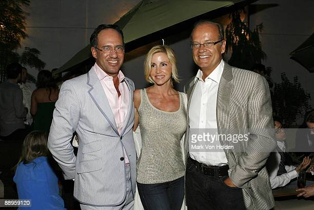 Andrew Saffir Camille Grammer and actor Kelsey Grammer attend an after party following a screening of '500 Days Of Summer' hosted by The Cinema...