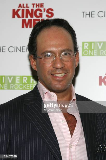 """Andrew Saffir during The Cinema Society Screening of """"All the Kings Men"""" at Regal Cinema Battery Park in New York, NY, United States."""