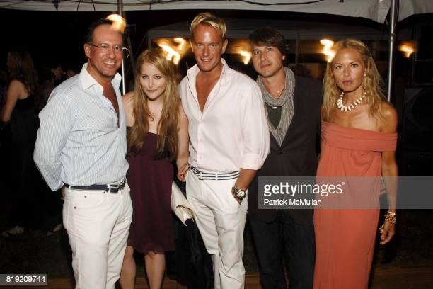 "Andrew Saffir, Samantha Perelman, Daniel Benedict, Rodger Berman and Rachel Zoe attend ACRIA's Annual ""Cocktails at Sunset"" Presented by Calvin Klein..."