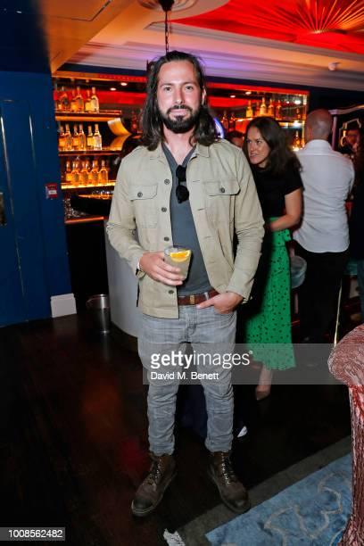 Andrew Salter attends Casamigos Tequila's 'Away for August' private dinner at Bagatelle on July 31 2018 in London United Kingdom