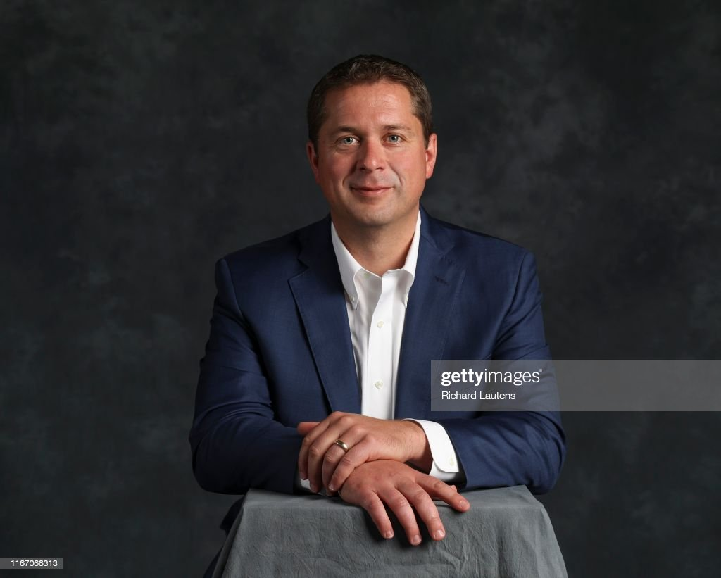 Conservative Party leader Andrew Scheer : News Photo
