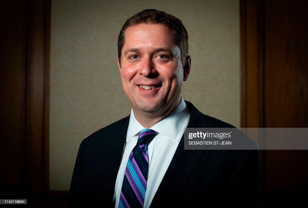 CANADA-POLITICS-OPPOSITION-PORTRAIT : News Photo