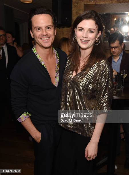 Andrew Scott and Aisling Bea attend the press night after party for Fleabag at The Century Club on August 28 2019 in London England