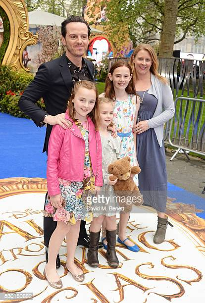 Andrew Scott and guests attend the European Premiere of 'Alice Through The Looking Glass' at Odeon Leicester Square on May 10 2016 in London England