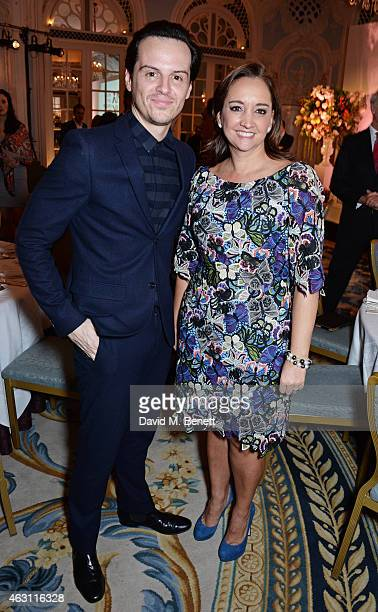 Andrew Scott and Minister of Tourism Claudia Ruiz Massieu attend a gastronomic Mexican lunch prepared by 6 of the country's finest chefs to celebrate...