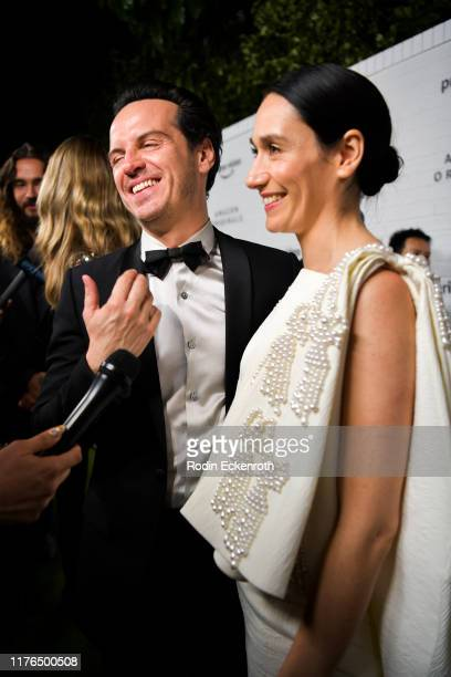 Andrew Scott and Sian Clifford attend the Amazon Prime Video Post Emmy Awards Party 2019 on September 22 2019 in Los Angeles California