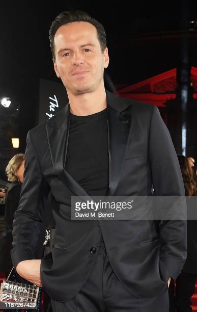 Andrew Scott arrives at The Fashion Awards 2019 held at Royal Albert Hall on December 2 2019 in London England
