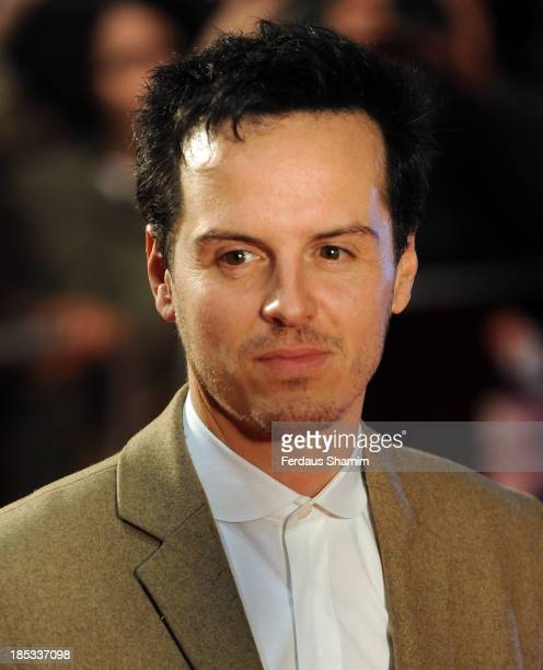 Andrew Scott attends a screening of 'Locke' during the 57th BFI London Film Festival at Odeon West End on October 18 2013 in London England