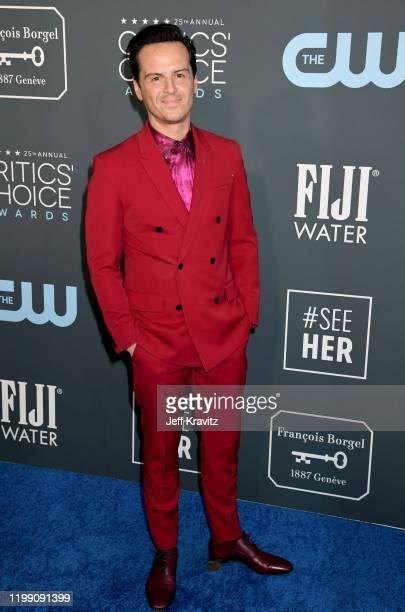 Andrew Scott attends the 25th Annual Critics' Choice Awards at Barker Hangar on January 12 2020 in Santa Monica California