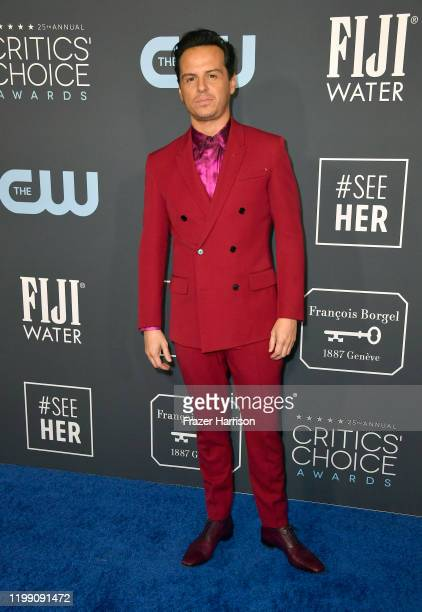 Andrew Scott attends the 25th Annual Critics' Choice Awards at Barker Hangar on January 12 2020 in Santa Monica California