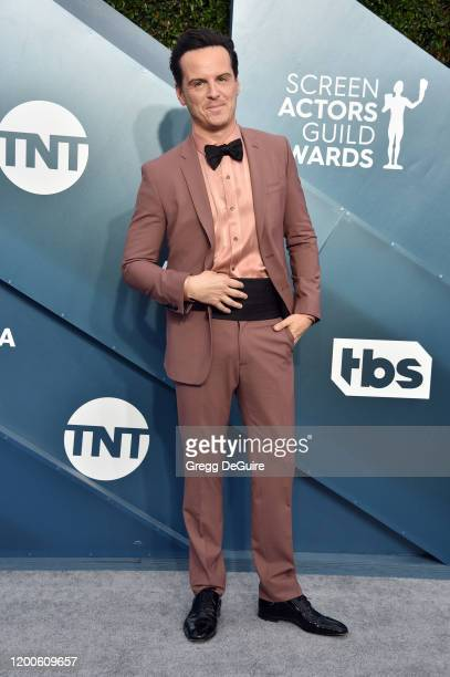 Andrew Scott attends the 26th Annual Screen ActorsGuild Awards at The Shrine Auditorium on January 19 2020 in Los Angeles California 721430