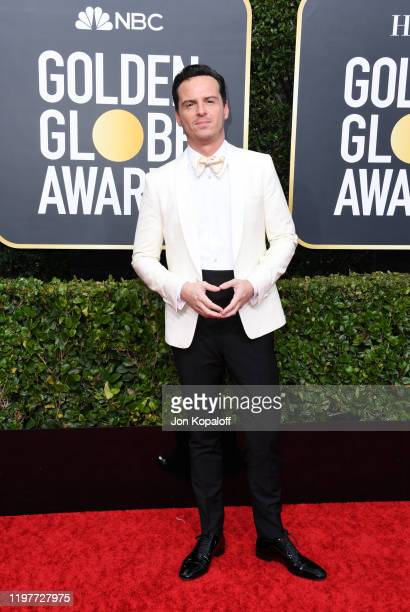Andrew Scott attends the 77th Annual Golden Globe Awards at The Beverly Hilton Hotel on January 05, 2020 in Beverly Hills, California.