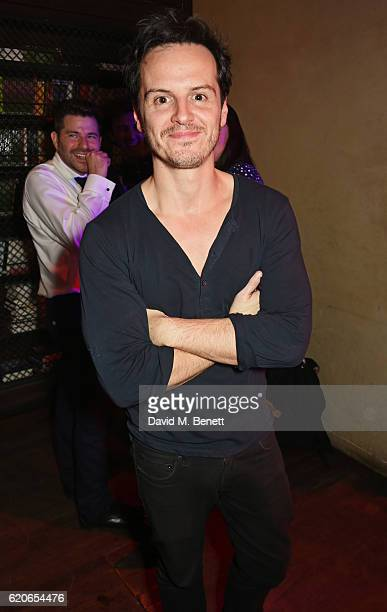 Andrew Scott attends The Bash at The Royal Court Theatre a gala night of celebration to support the next 60 years of radical new writing on November...