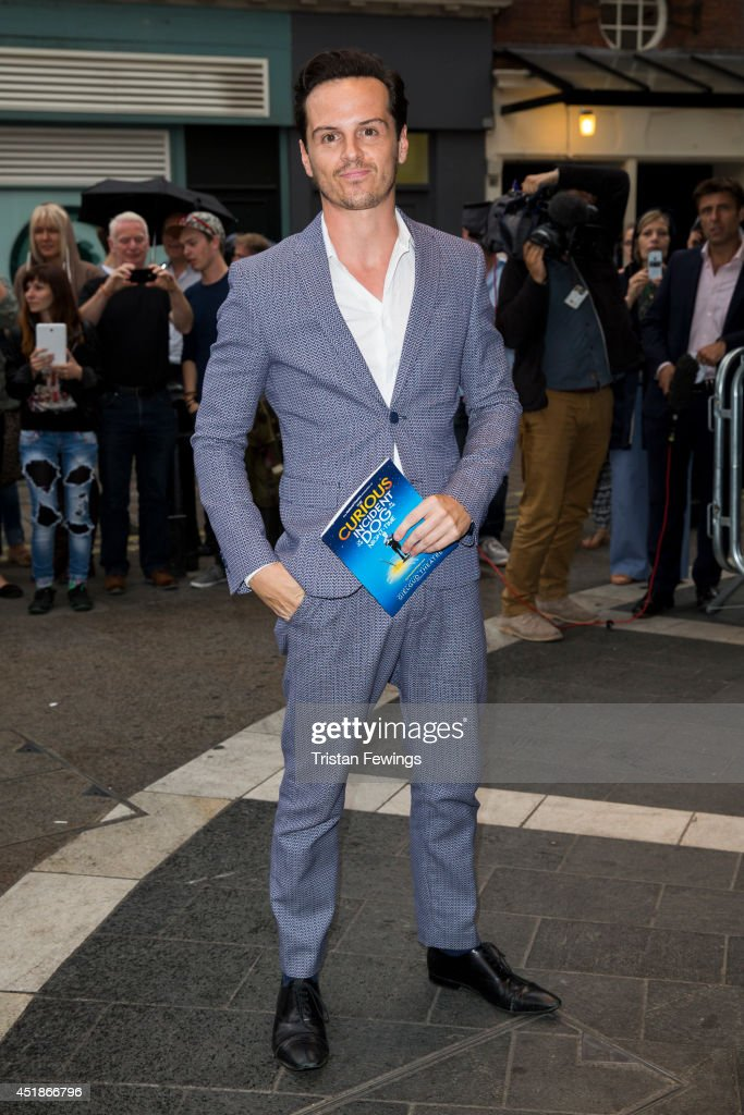 """The Curious Incident Of The Dog In The Night-Time"" - Press Night - Arrivals : News Photo"