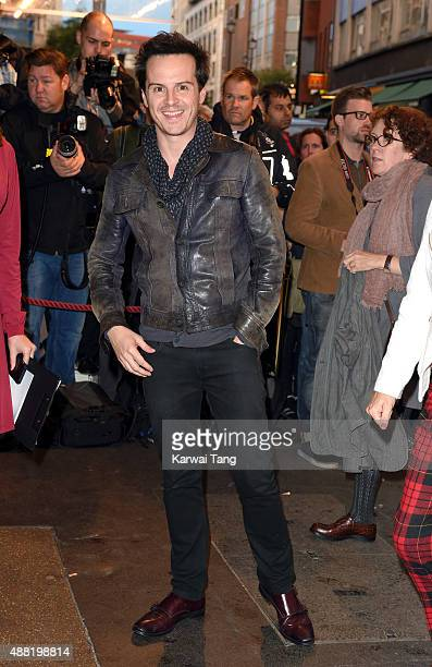 Andrew Scott attends the press night of 'Photograph 51' at Noel Coward Theatre on September 14 2015 in London England