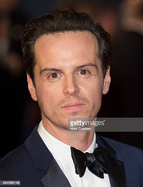 Andrew Scott attends the Royal Film Performance of 'Spectre' at Royal Albert Hall on October 26 2015 in London England