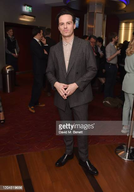 Andrew Scott attends The WhatsOnStage Awards 2020 at The Prince of Wales Theatre on March 1, 2020 in London, England.