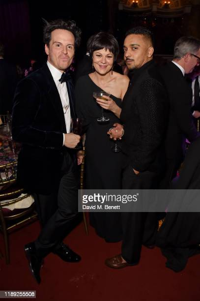 Andrew Scott Helen McCrory and guest attend the after party of the 65th Evening Standard Theatre Awards In Association With Michael Kors at London...