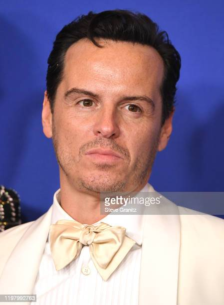 Andrew Scott poses in the press room at the 77th Annual Golden Globe Awards at The Beverly Hilton Hotel on January 05 2020 in Beverly Hills California
