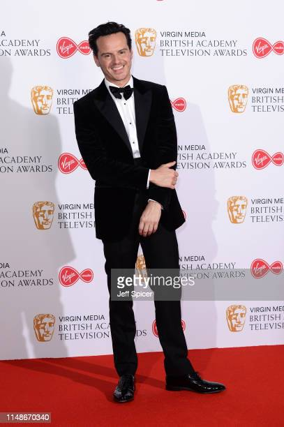 Andrew Scott poses in the Press Room at the Virgin TV BAFTA Television Award at The Royal Festival Hall on May 12 2019 in London England